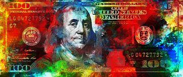 Benjamin Franklin - 100 dollars en couleur