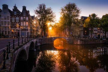 Morning light in Amsterdam van Georgios Kossieris