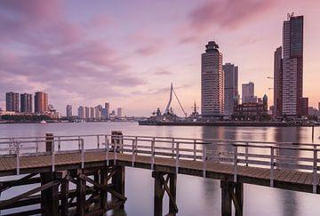 Sunrise in Rotterdam van