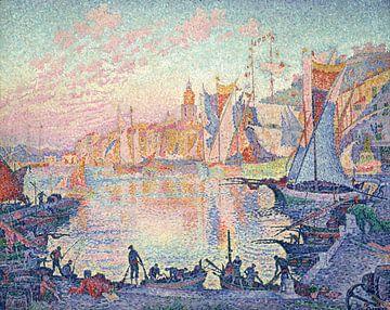 De haven van Saint-Tropez, Paul Signac