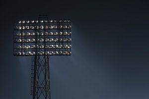 "Stadionlamp Feyenoord Stadion ""De Kuip"" in Rotterdam"