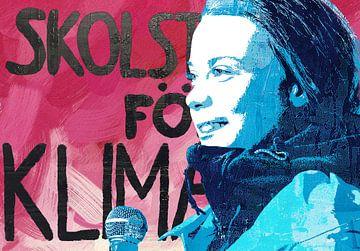 Greta Thunberg - School Strike for Climate van Stephen Chambers