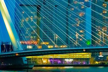 Manhattan an der Maas Rotterdam von GoingDutch