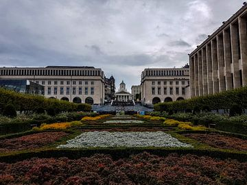 Paleis Brussel von Naresh Bhageloe