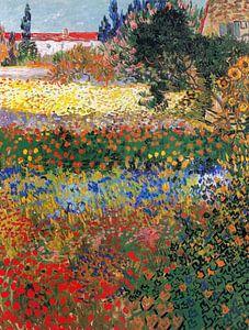 Vincent van Gogh. Bloementuin