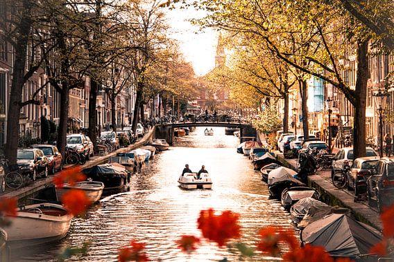 Amsterdamse grachten van Marleen Kuijpers