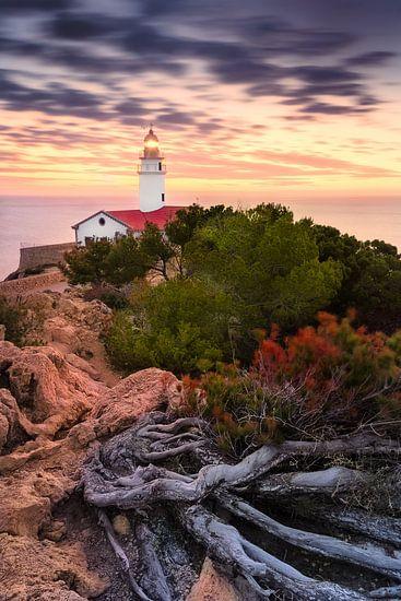 Lighthouse Capdepera (Cala Ratjada / Mallorca) van Dirk Wiemer