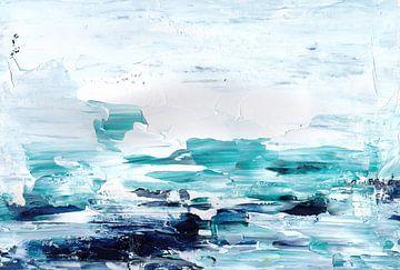 Weißes Meer von Maria Kitano