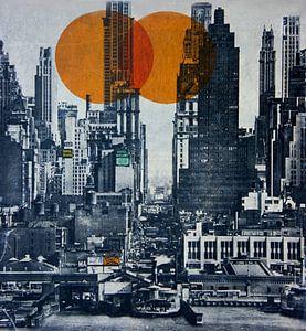 NEW YORK SKYLINE 1948 (Gezien bij VTwonen, weer verliefd op je huis )