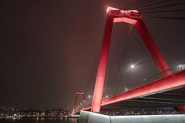 Rotterdam bij nacht van Gertjan Hesselink
