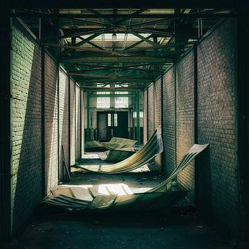 Verlassenes Fabrikgebäude von Saskia Schotanus
