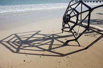 Tropischer Strand von Cayo las Brujas auf der karibischen Insel Kuba von Tjeerd Kruse