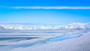 Stil landschap IJsland von Jo Pixel