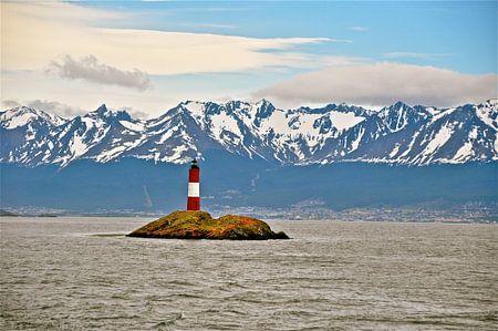 Vuurtoren in Patagonië in Argentinië