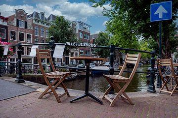 Pont de la colline d'Amsterdam sur Peter Bartelings Photography
