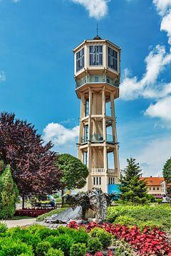 Der Wasserturm in Siofok, Ungarn von Gunter Kirsch