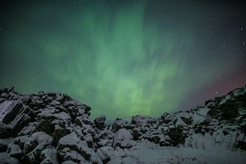 Þingvellir IJsland von Luc Buthker