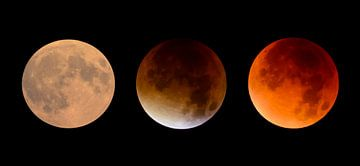 Maansverduistering in drie stappen van
