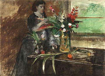 Porträt der Estelle Musson Degas, Edgar Degas