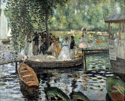 Auguste Renoir. La Grenouillère van 1000 Schilderijen