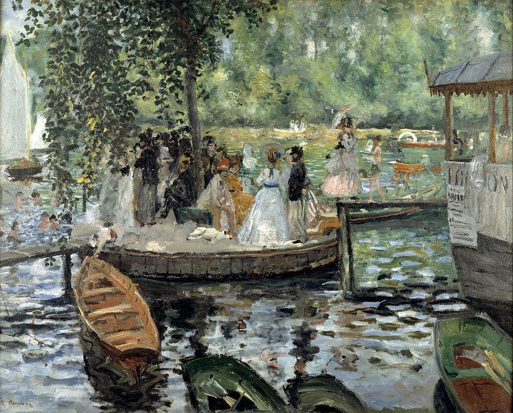 Auguste Renoir. La Grenouillère