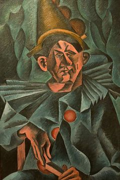 Bohumil Kubišta, Pierrot, 1911