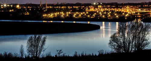 Zwolle bij nacht van