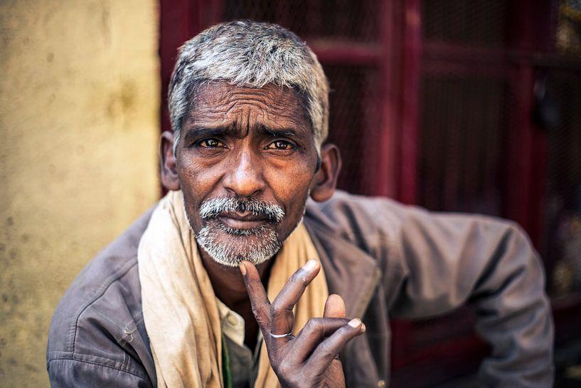 Varanasi, India van Bart van Eijden