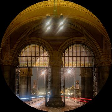 Fietstunnel Rijksmuseum  Amsterdam (Passage Rijksmuseum) van Gerard Koster Joenje (Vlieland, Amsterdam & Lelystad in beeld)