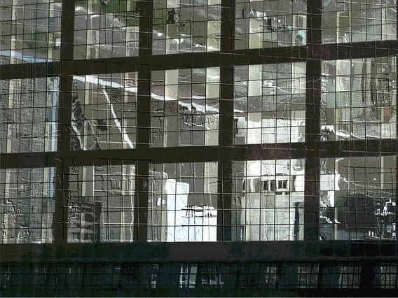 16. abstract, stad van Alies werk
