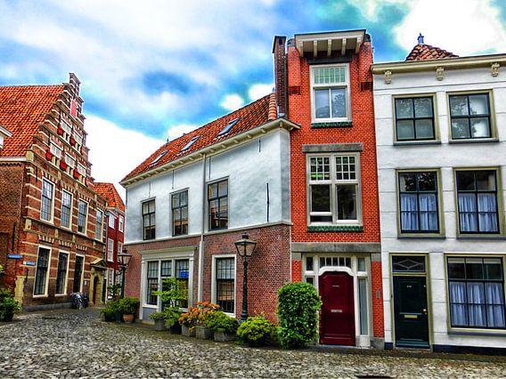 Het smalste huis van Leiden? van Jessica Berendsen