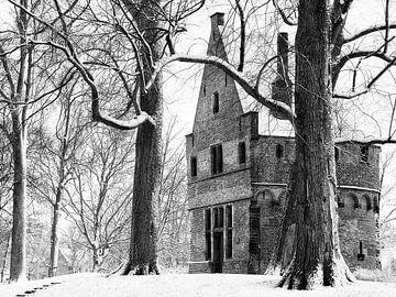 Mariatoren in winterse sfeer van Bob Bleeker