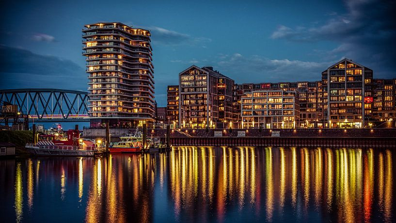 Nijmegen bei Nacht #3 von Lex Schulte