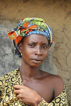 Femme africaine sur Aristide Koudaya