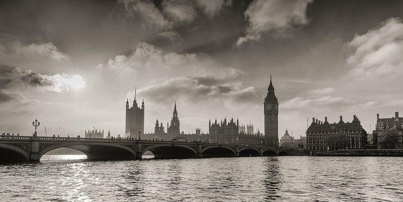 Westminster Bridge London van Hans Brinkel