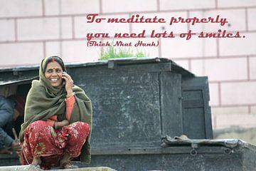 Om goed te kunnen mediteren, heb je..... van Cora Unk