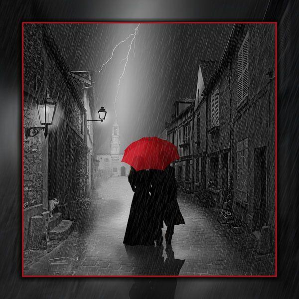 Samen onder de rode paraplu van Monika Jüngling