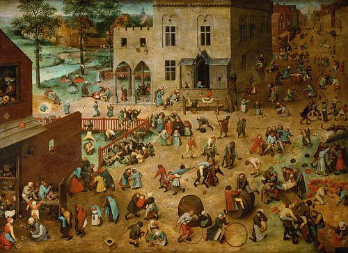 Kinderspelen, Pieter Bruegel de Oude van