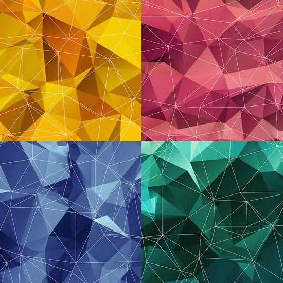Polygonal square van Harry Hadders
