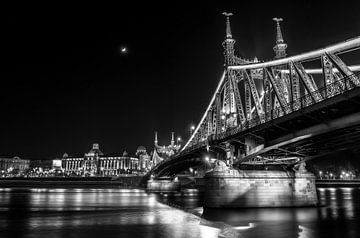 Vrijheidsbrug Boedapest van Martijn van Steenbergen