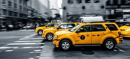 "New York  ""Yellow cab"""