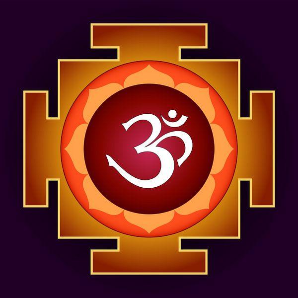 AUM - Yantra für Yoga-Meditation. Symbol des Absoluten von Paul Evdokimov