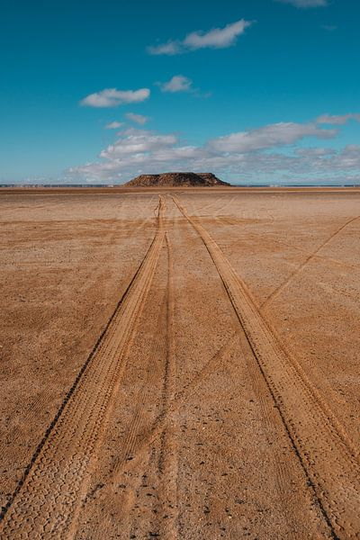 Zoutvlakte Marokko 1 van Andy Troy