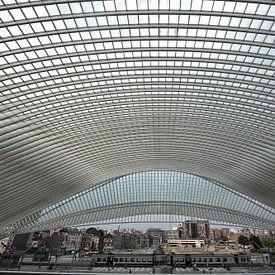 Luik,station. van Tilly Meijer