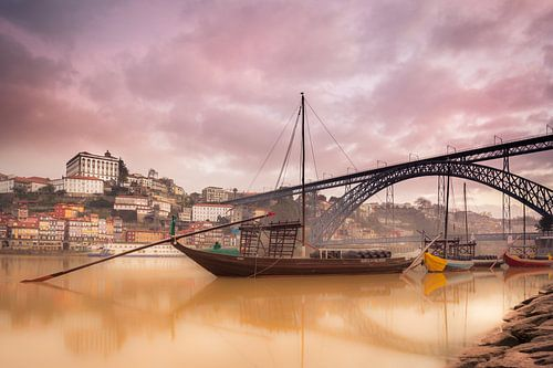 Mistig Porto van