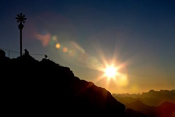 Sonnenaufgang Zugspitze von Andreas Müller