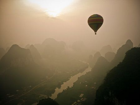 Early morning by balloon