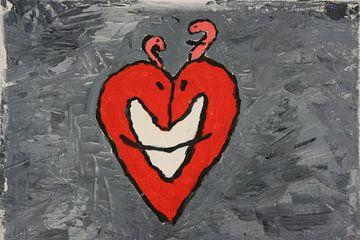 Smiling heart van