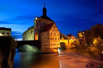 Bamberg am Abend van Jan Schuler