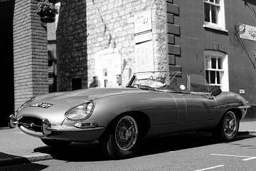 Jaguar E-Type van